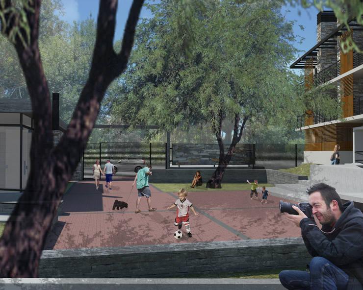 Lagrange Parc Departamentos de categoría: Jardines de estilo  por Development Architectural group