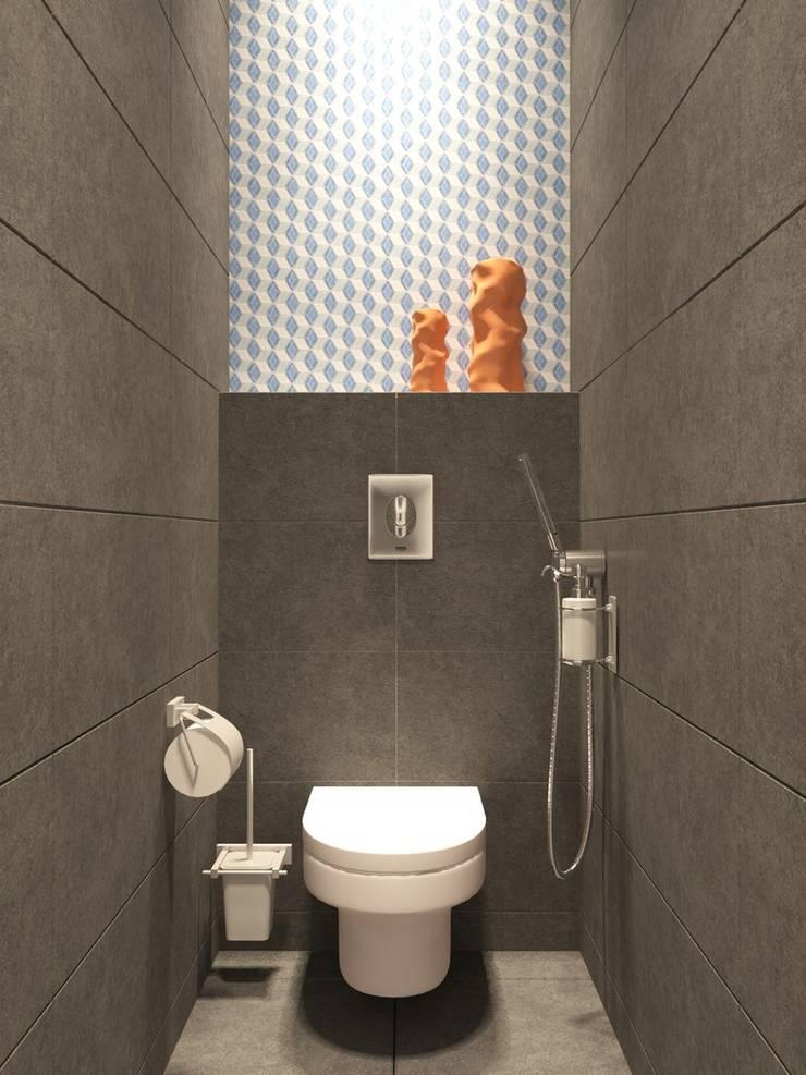 modern Bathroom by Anastasia Yakovleva design studio