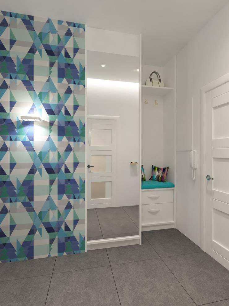 Corridor & hallway by Anastasia Yakovleva design studio