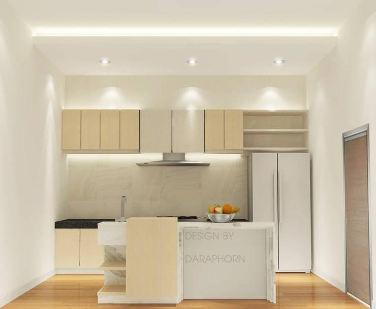 Kitchen 3D Design #10:  ห้องครัว by SIAMTAK CO., LTD.