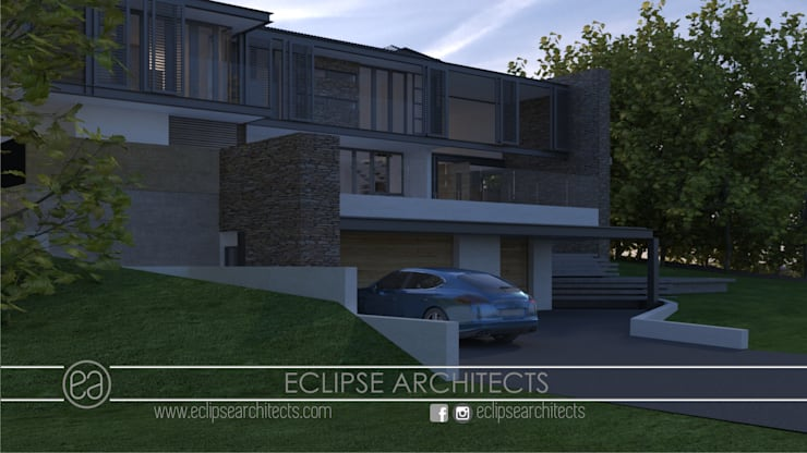 Dapur oleh Eclipse Architects, Modern