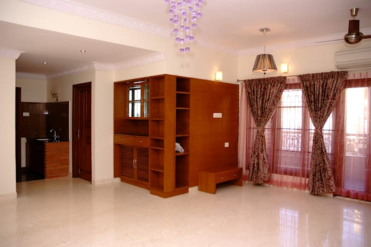 Living room by Scale Inch Pvt. Ltd.