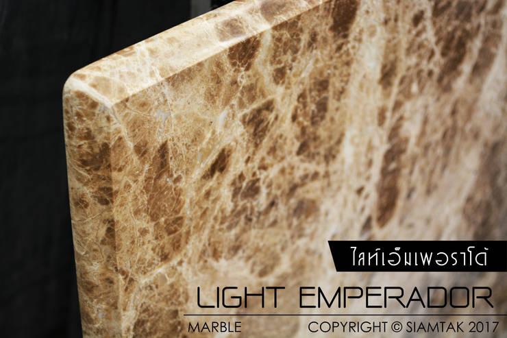 Light Emperador:  พื้นและกำแพง by SIAMTAK CO., LTD.