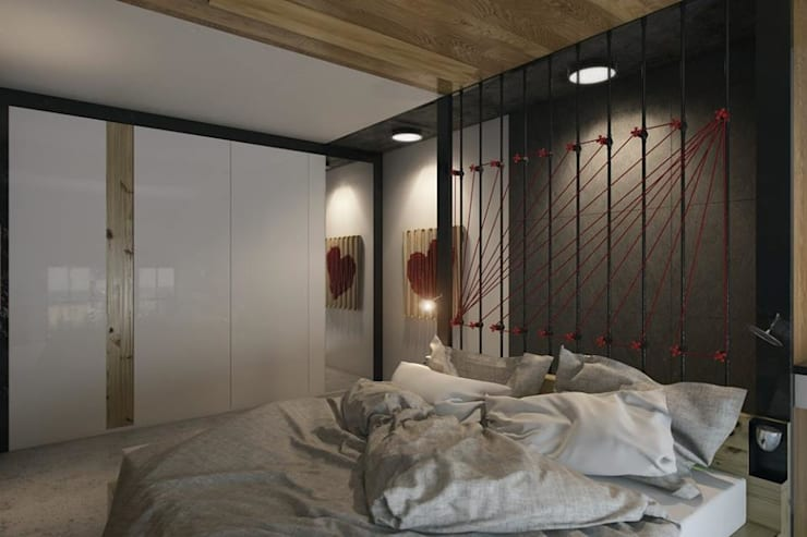 North Point Residential:  Bedroom by CLOUD9 DESIGN, Modern