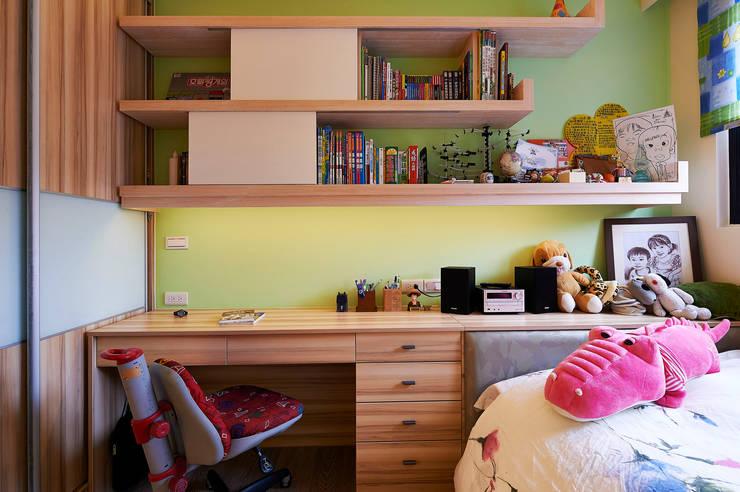舍子美學設計有限公司が手掛けた子供部屋