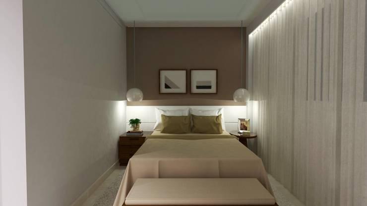Bedroom by Andréa Galindo Arquitetura e Urbanismo