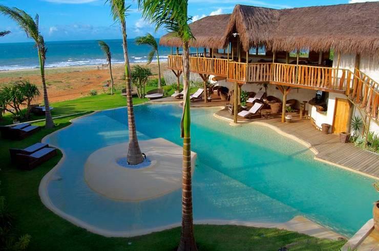 Piscina de Areia. Hotel Hurricane Jeri: Piscinas  por Bebig Brasil. Piscinas de Areia