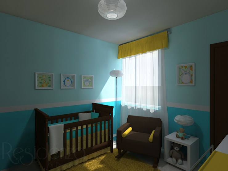 modern Nursery/kid's room by homify