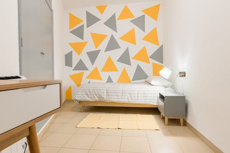 Dormitorios infantiles de estilo  por eM diseño de interiores
