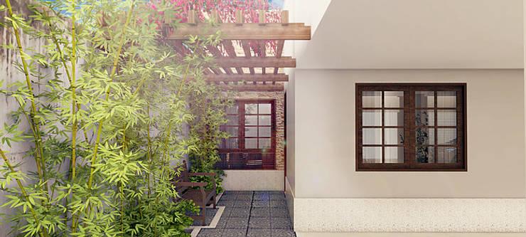 Casas de estilo  por Bureau-Arquitetura