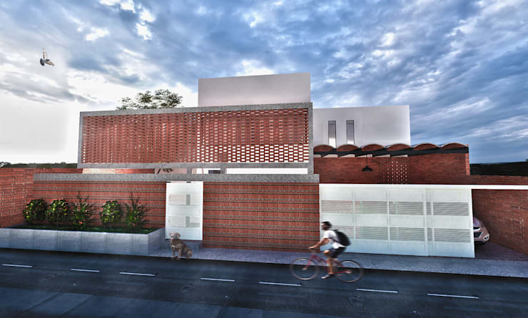 Casa Río: Casas de estilo  por Vintark arquitectura