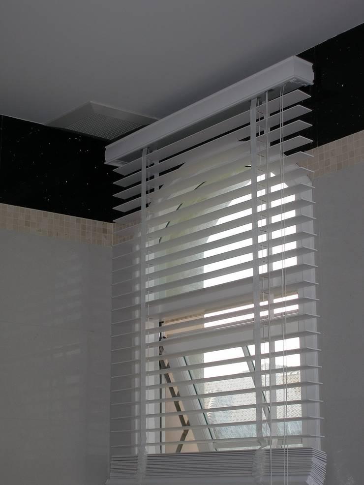 มู่ลี่ไม้ 50 มิล ระบบเชือกปรับ:  หน้าต่างและประตู by C&M