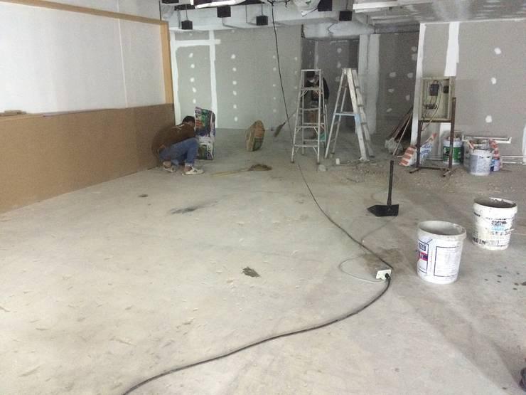 ขัดผิวเรียบ:  พื้นและกำแพง by C&M