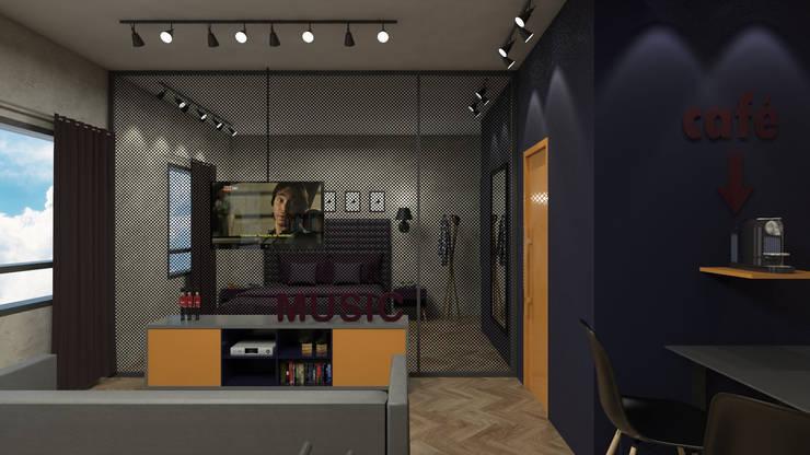 โดย Studio Escala Arquitetura e Interiores โมเดิร์น