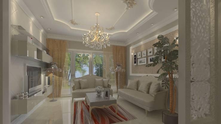 Decoration :  تصميم مساحات داخلية تنفيذ Hydra Construction,