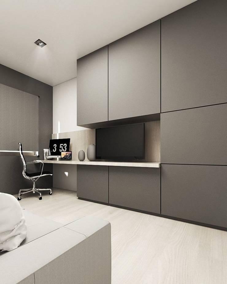 Study/office by FOORMA Pracownia Architektury Wnętrz