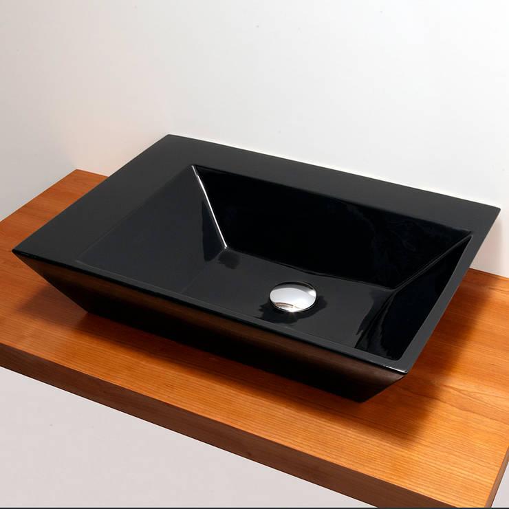 Lacava Prisma #8200 Vessel Sink:  Bathroom by Serenity Bath