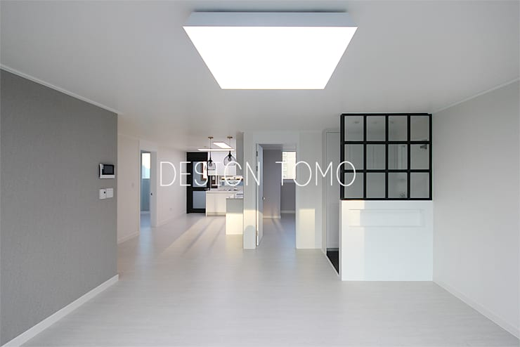Living room by 디자인토모