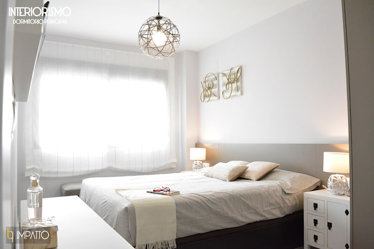 Habitaciones de estilo  por IMPATTO