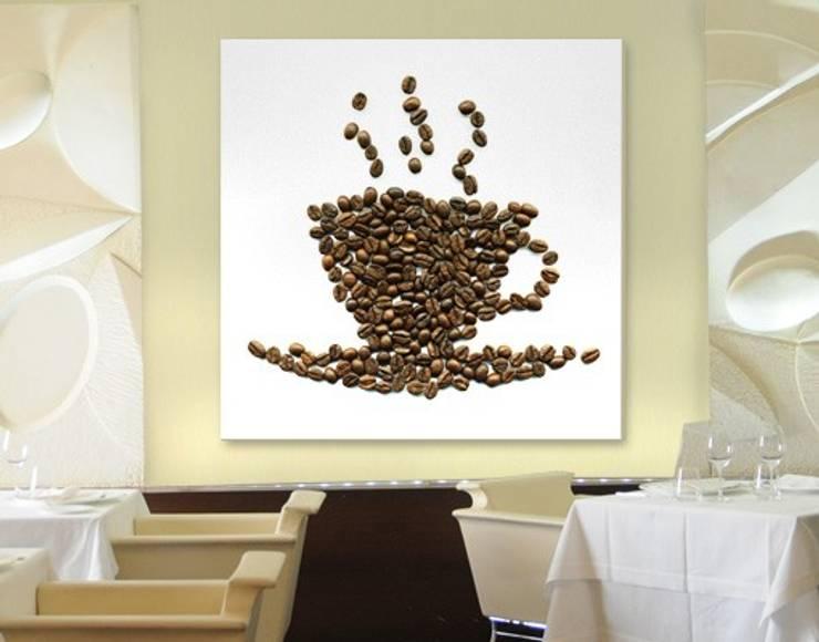 Bilderwelten LEINWANDBILD Kaffee: modern  von Bilderwelten,Modern