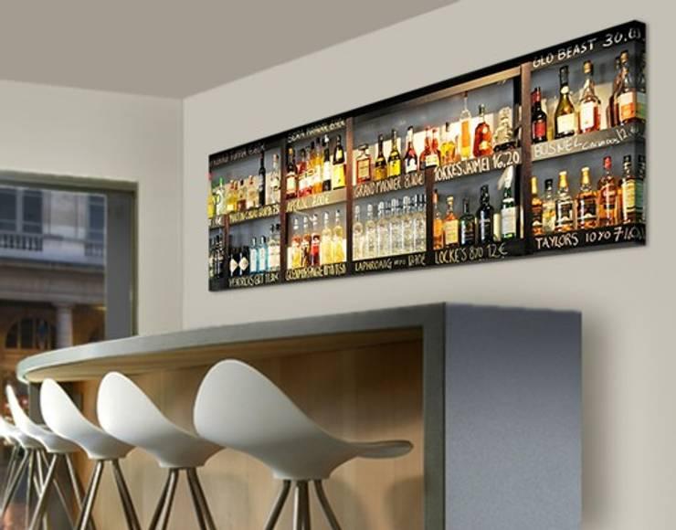 Bilderwelten Leinwandbild Bar: modern  von Bilderwelten,Modern