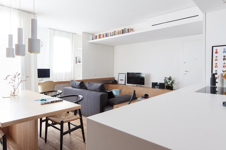 Salas de estilo minimalista por Didonè Comacchio Architects