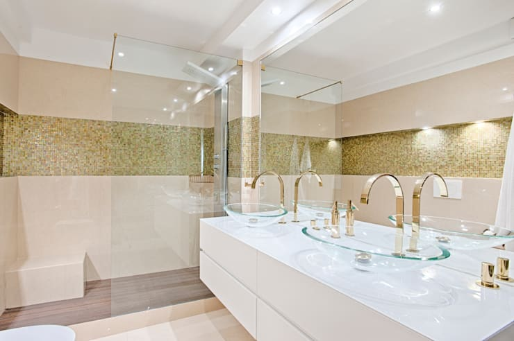 modern Bathroom by menta, creative architecture