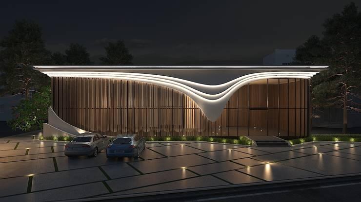 建築設計:  水療 by 禾御建築室內設計有限公司