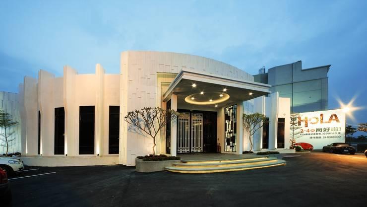 東大接待中心:  餐廳 by 禾御建築室內設計有限公司