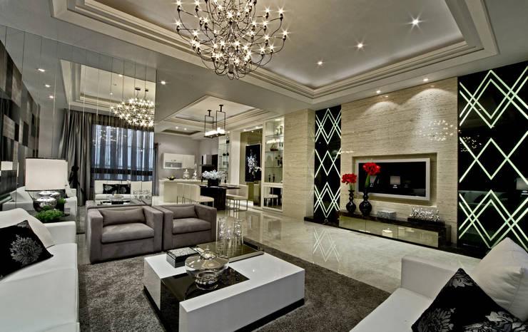 Phòng khách by 禾御建築室內設計有限公司