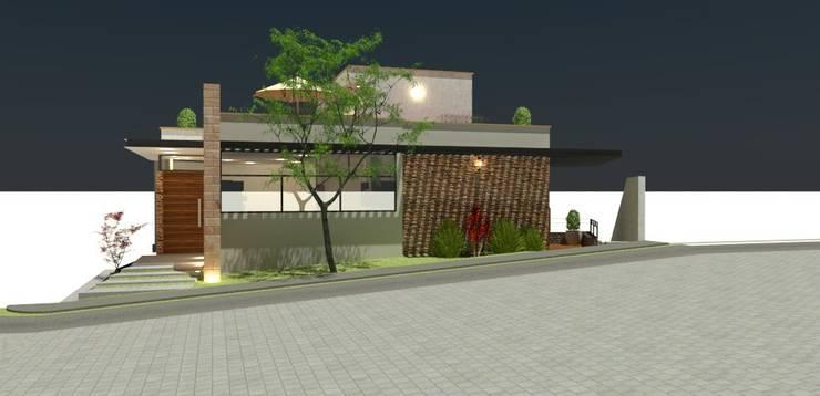 Casas de estilo moderno por CDN
