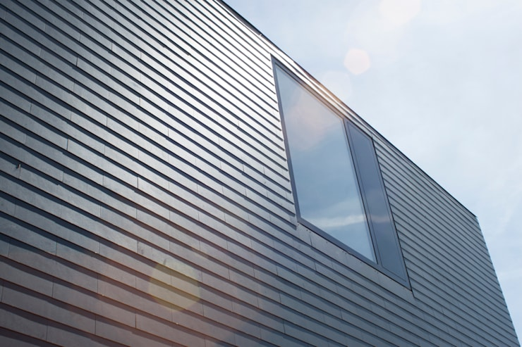 Houses by 8A Architecten, Modern Slate