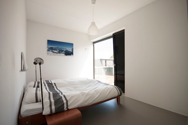 غرفة نوم تنفيذ 8A Architecten