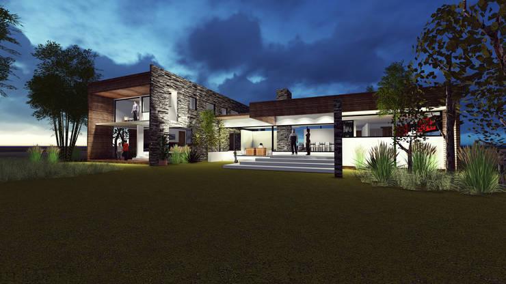 DISEÑO DE CASA EN PAINE: Casas de estilo  por Dušan Marinković - Arquitectura - Santiago