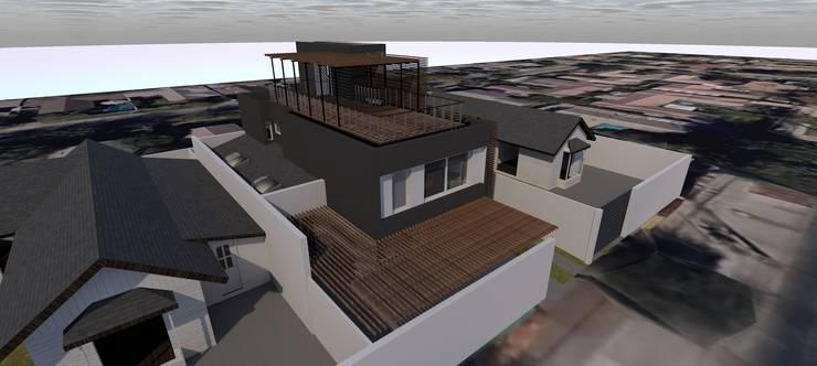 CASA FERNÁNDEZ – SOFFIA: Casas de estilo  por Dušan Marinković - Arquitectura