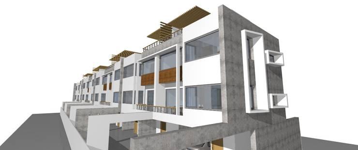 Proyecto - Condominio Rio Baker: Casas de estilo  por Dušan Marinković - Arquitectura