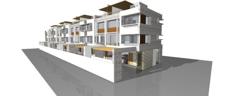 Proyecto – Condominio Rio Baker: Casas de estilo  por Dušan Marinković - Arquitectura