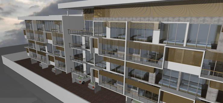 EDIFICIO BAKER: Casas de estilo  por Dušan Marinković - Arquitectura