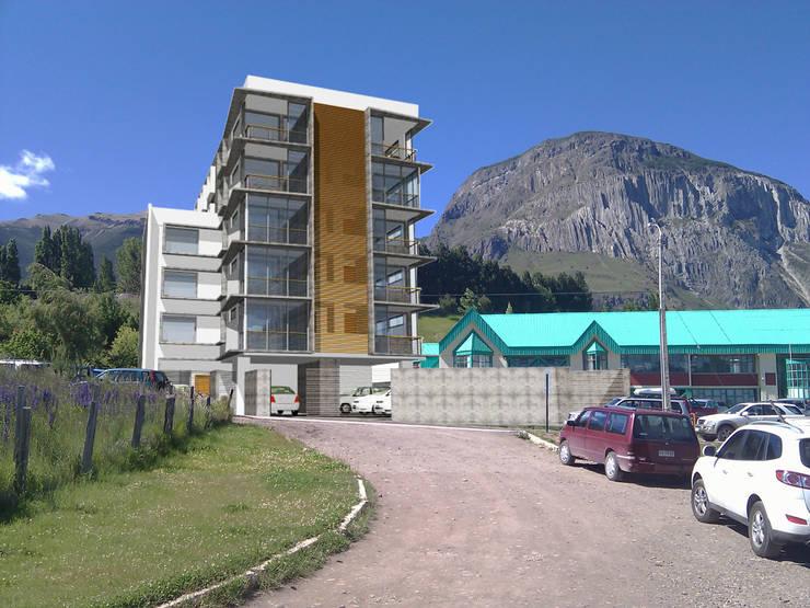 EDIFICIO PALENA: Casas de estilo  por Dušan Marinković - Arquitectura