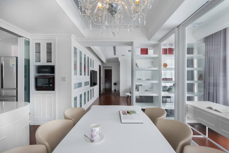 白色偏執 The White:  餐廳 by Glocal Architecture Office (G.A.O) 吳宗憲建築師事務所/安藤國際室內裝修工程有限公司