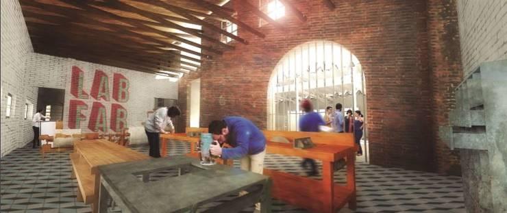 espacio taller:  de estilo  por Fabric3D