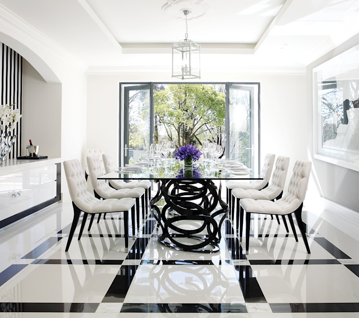 Sandhurst home:  Dining room by Casarredo