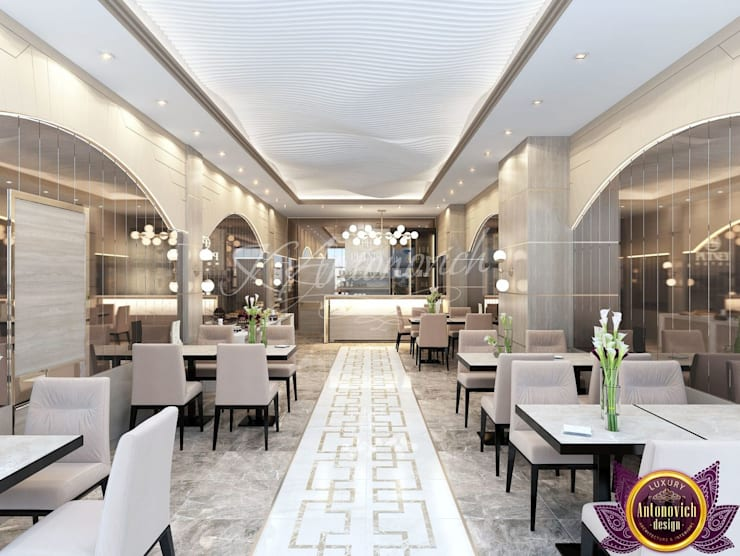 ​Hotels Design of Katrina Antonovich:  Hotels by Luxury Antonovich Design, Modern