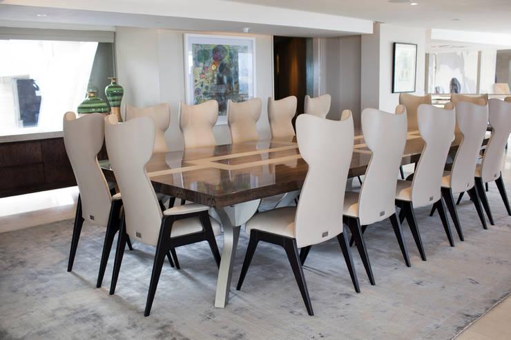 Bryanston home:  Dining room by Casarredo
