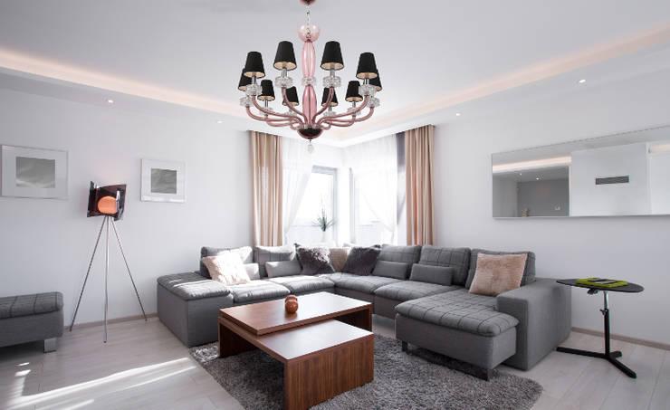 Living room تنفيذ Mollini Sp.z o.o.