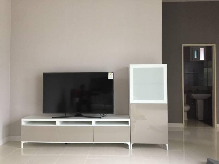 대전 Prefabricated Kit Home: 제타힐의  거실