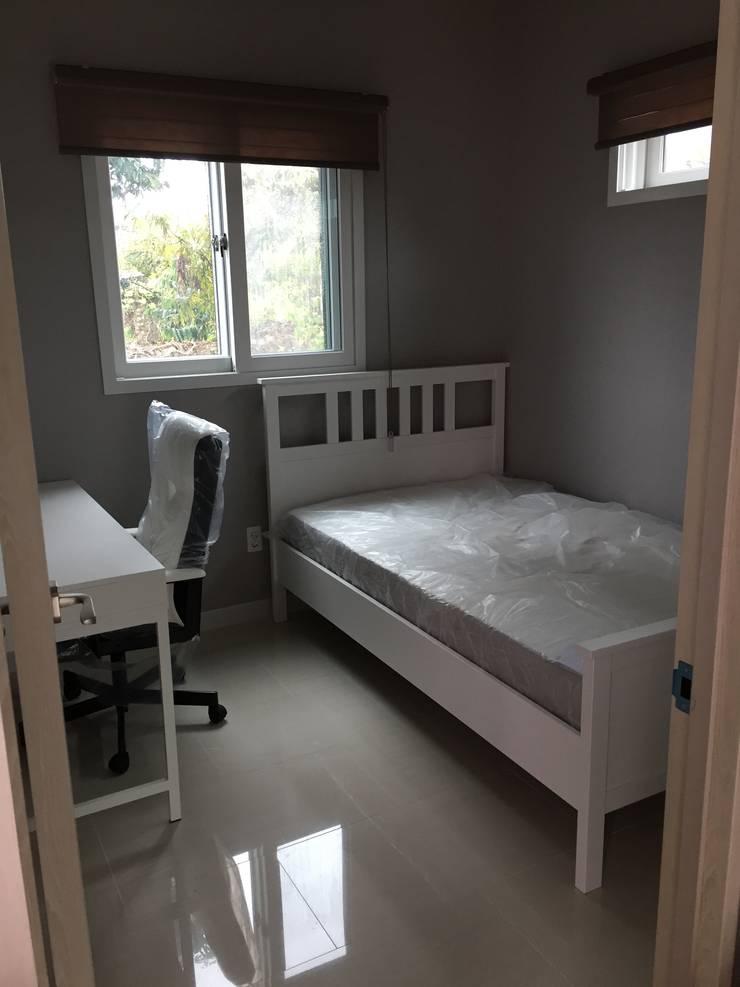 대전 Prefabricated Kit Home: 제타힐의  침실