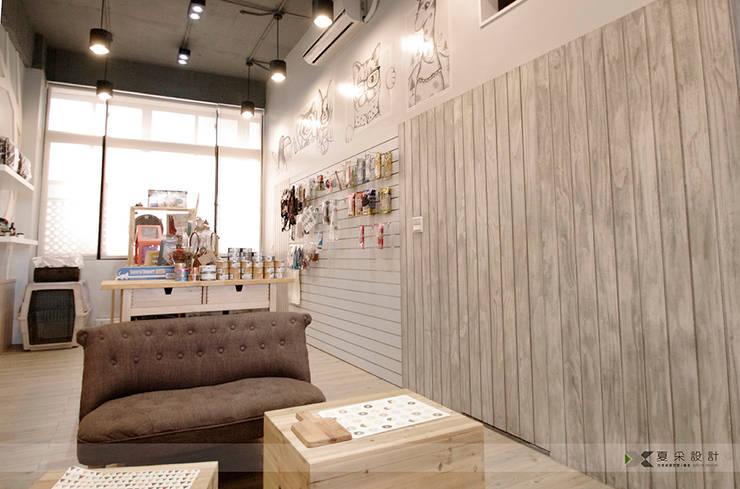 毛小孩旅館:  商業空間 by 寬森空間設計