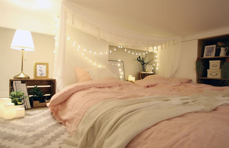 modern Bedroom by 노르딕앤