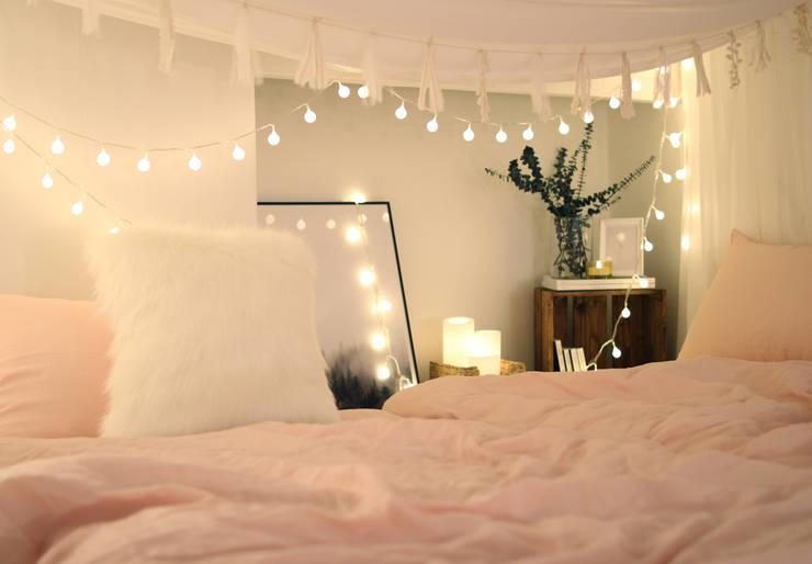 غرفة نوم تنفيذ 노르딕앤